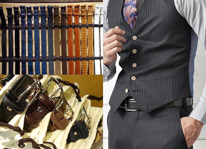 ビジネスベルト スーツに似合う選び方