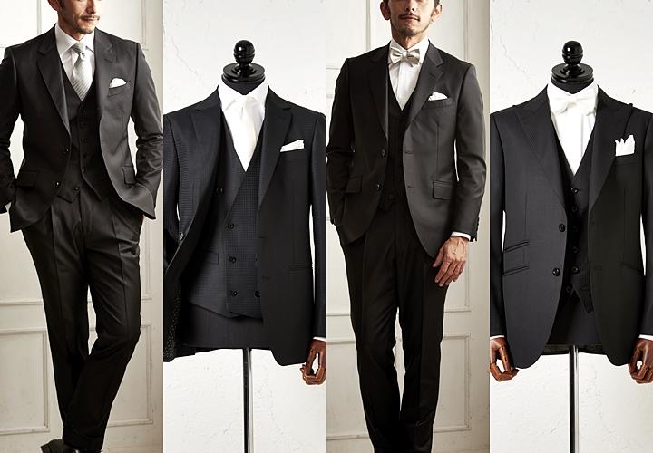 礼服 メンズ,よりフォーマルな礼服スタイル