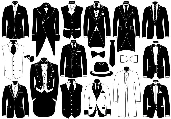 礼服 メンズ,礼服の種類
