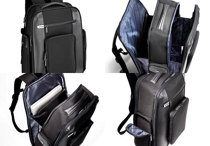 ビジネスリュック,ゼロハリバートンのおすすめバッグ,デザイン