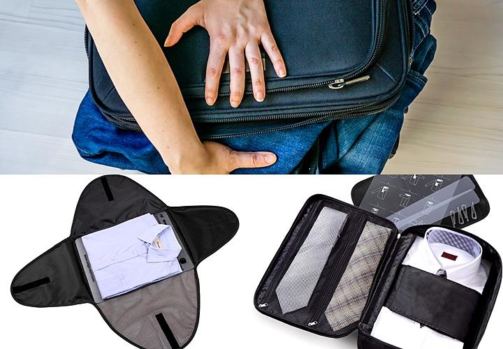 スーツの持ち運び,スーツケーズ,ワイシャツ専用のケース