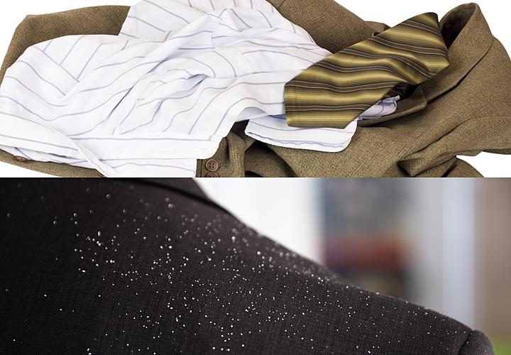 スーツ持ち運び,スーツのシワ,雨の日
