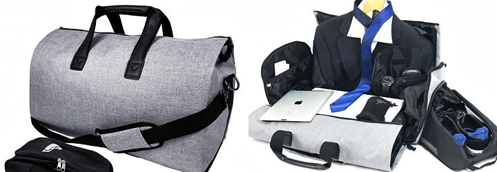 スーツの持ち運び,ガーメントバッグ,様々なデザイン