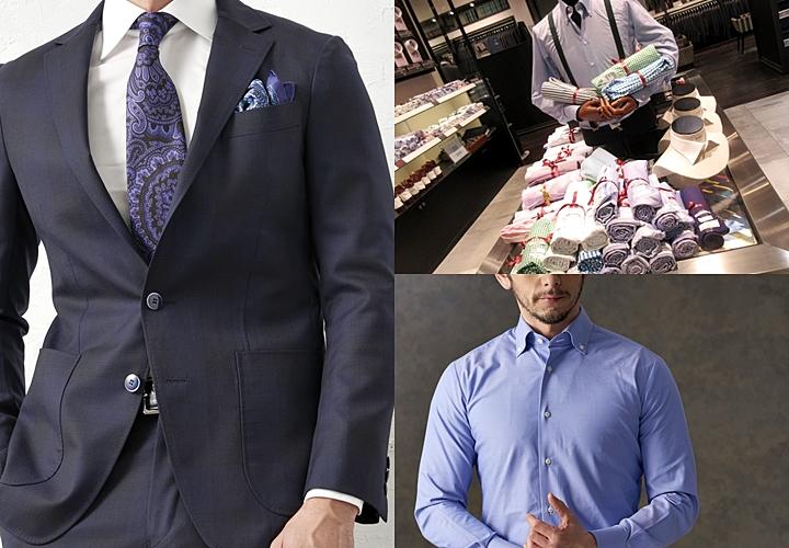 9a9305ed3a ネイビースーツに合わせるシャツは、シーンを選ばない白、清潔感のあるブルー、色気のあるピンク。柄は、無地・シャドーストライプなどシンプルなデザインが良いで  ...