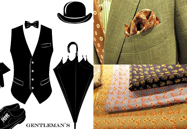 英国紳士,細かな部分,時計,ハンカチーフ,傘