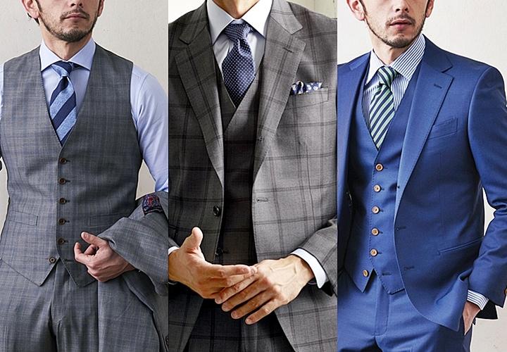 英国紳士,スーツの着こなし,スリーピーススーツ