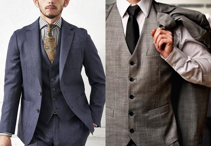 英国紳士,スリーピーススーツ,ベストスタイル