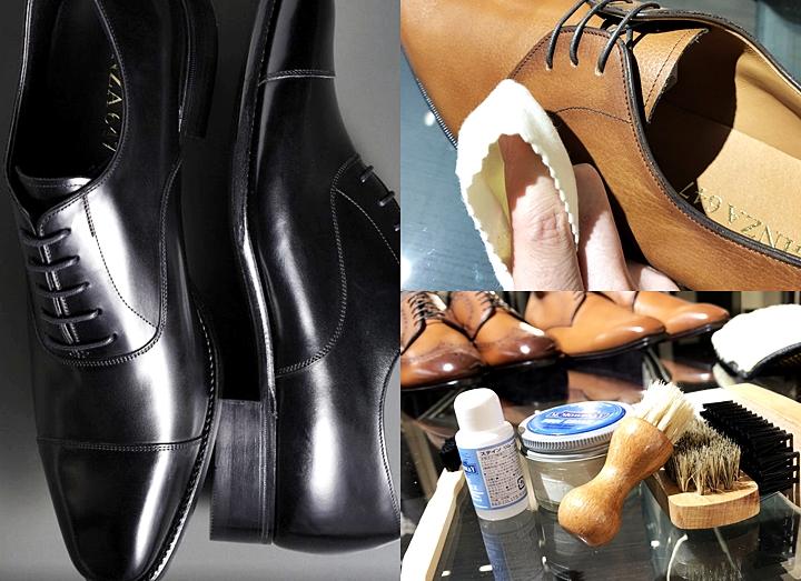 革靴用のクリームで綺麗に仕上げる!~選び方と簡単にできるお