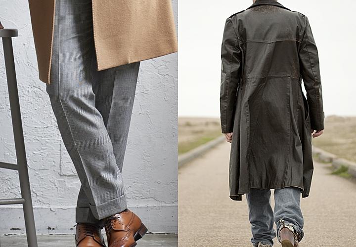 チェスターコート,着こなし方,パンツのサイズ感