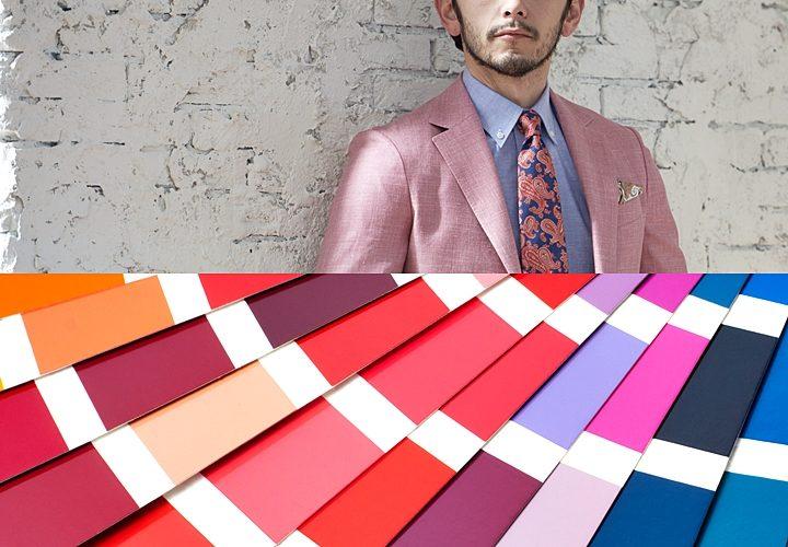 ピンクスーツ,色の効果