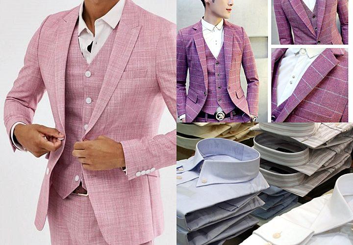 ピンクスーツ,着こなしのポイント,合わせるシャツ,白