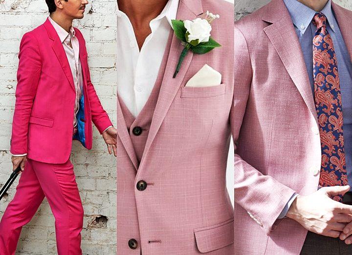 ピンクスーツの着こなし方,メンズが楽しむポイント