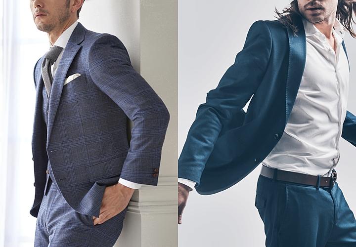 スーツの裏地,スーツの印象に繋がる形態維持