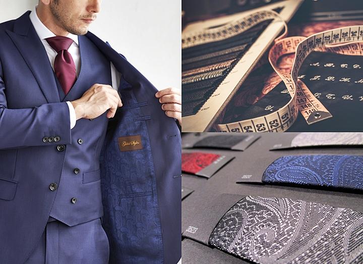 スーツの裏地の選び方!~おしゃれな色柄の組み合わせと着こなし方~