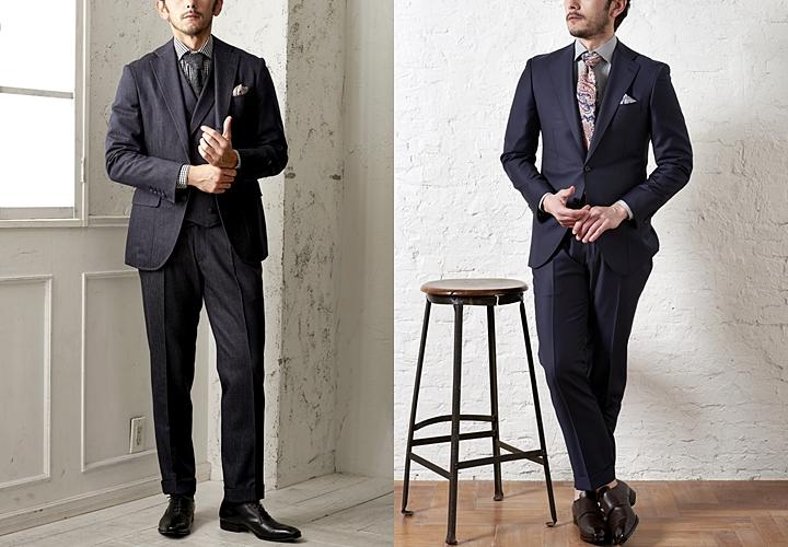 デニムスーツのコーディネート,ビジネススーツ