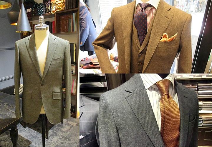 デニムスーツの着用シーン着こなし方,カジュアル寄りなスーツ