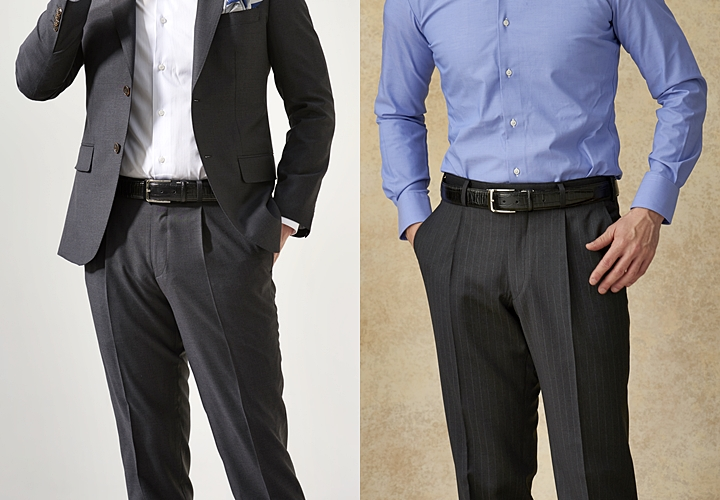 スラックス,スーツパンツとの違い