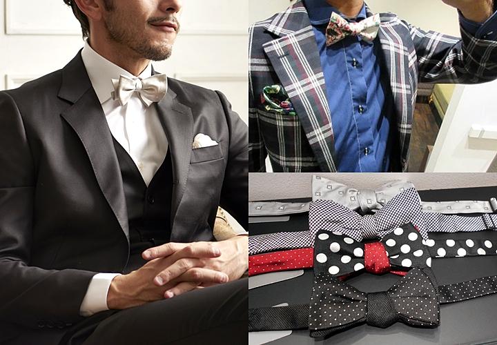 ネクタイの結び方,蝶ネクタイ