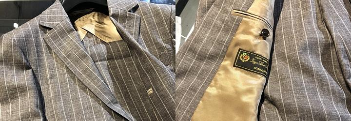 セットアップ・スーツ,生地ブランド