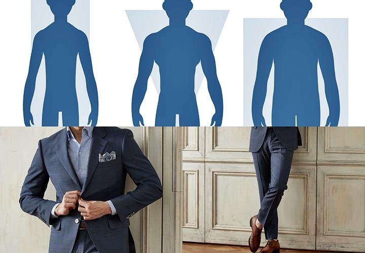 セットアップ・スーツ,定義,サイズ感