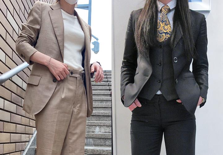 女性がメンズスーツをオーダーするには?