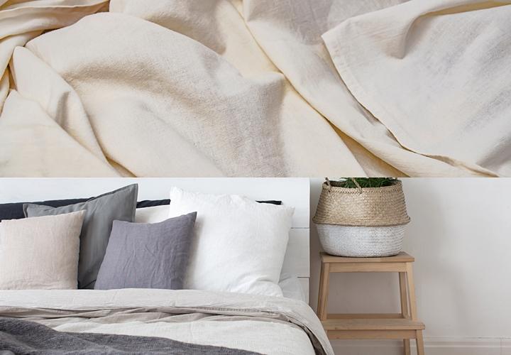 リネン,リネン素材のメリット,寝具