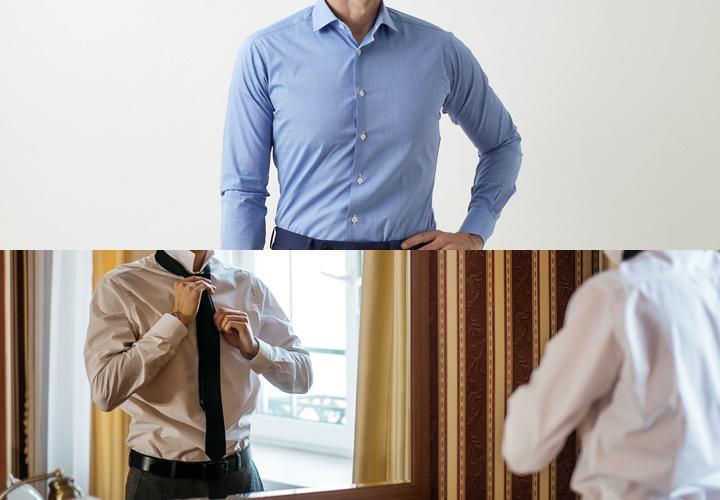 ワイシャツのオーダー,おすすめ,体型に合わせたサイズ