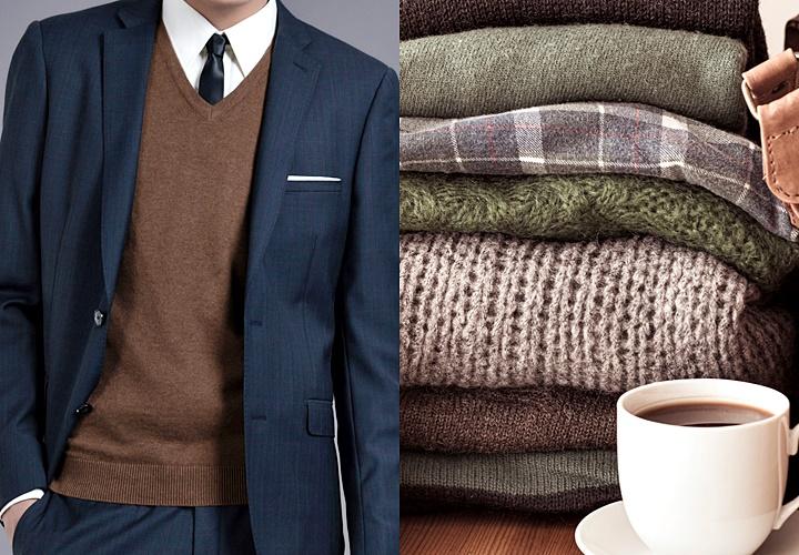 ニット(セーター),着こなしに欠かせないアイテム