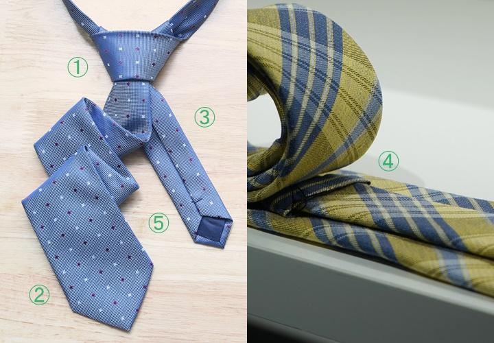 ネクタイの名称,ネクタイの長さ