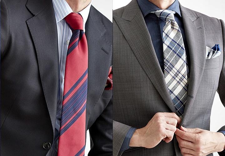 ネクタイの長さ,結び方で調整,ウィンザーノット,ダブルノット