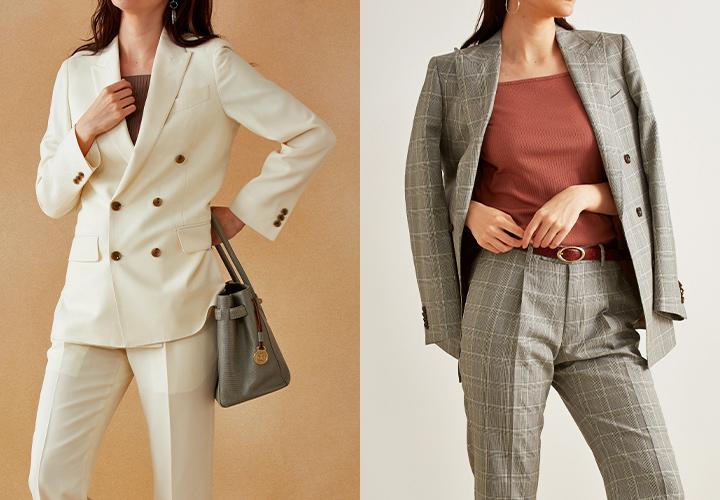 女性向けメンズスーツはグローバルスタイルでオーダー!