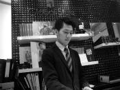 新宿南口店の曽根 栞樹